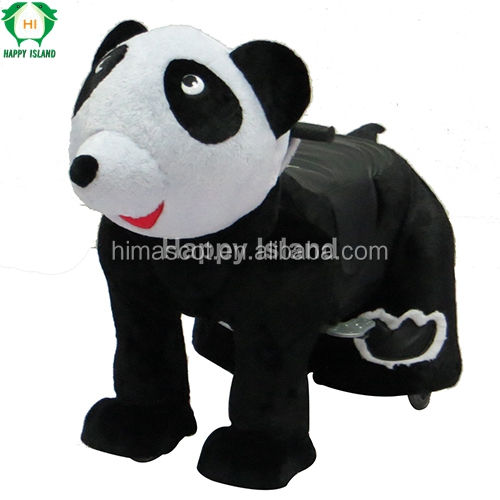 HI good quality kiddie walking coin operated animal rider