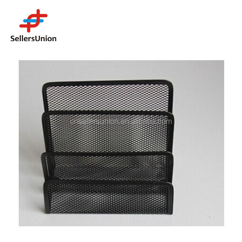 No.1 yiwu commission agent wanted 3 SECTION LETTER HOLDER , METAL LETTER HOLDER SIZE 17.3*8.5*12.4CM