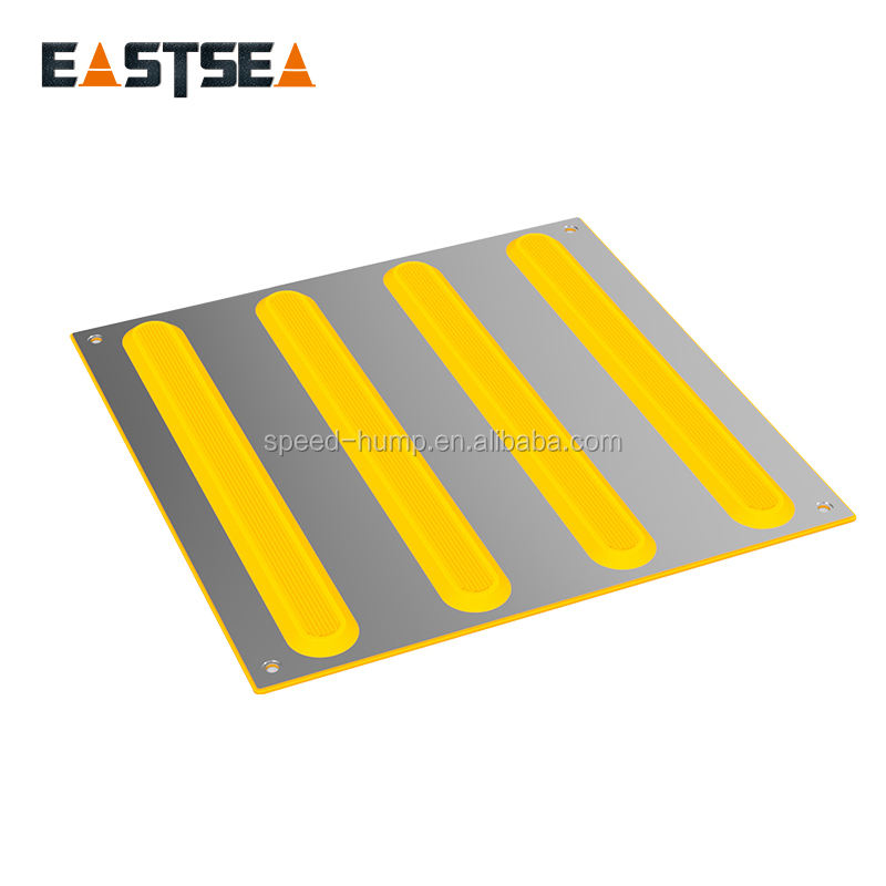 Anti-slip Rubber PVC/TPU Tactile Paving Tile Used In Floor