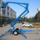 Morn 10m Articulated towable boom lift/truck mounted hydraulic boom lift,aerial work platform price