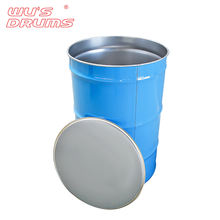 Customized approved empty large metal stainless steel oil drum 210 liters