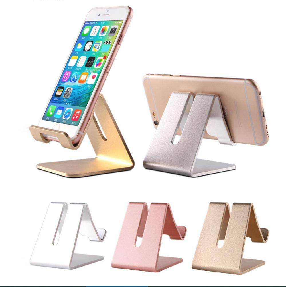 Multi-functional Metal Aluminum Fold Panel Mobile Phone Stand Holder for Tablet PAD