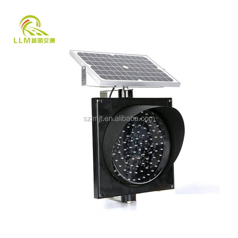 Bester preis solarbetriebene gelbe LED blinkt drehwarnleuchte