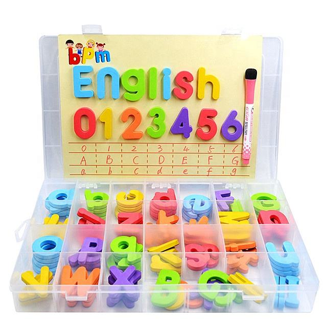 Factory Directly Sale Amazon 2019 Hot Alphabet ABC EVA Magnetic Letters Educational Baby Toys