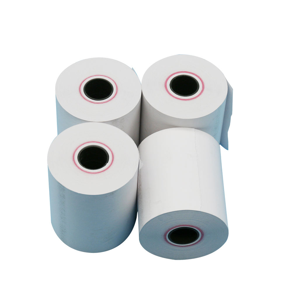 Factory Price 80x80mm 57x50mm cash register thermal roll paper thermal paper