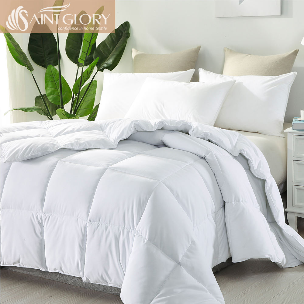 Wholesale Polyester Cheap Comforter Bed Microfiber Filling Duvet Winter Quilt