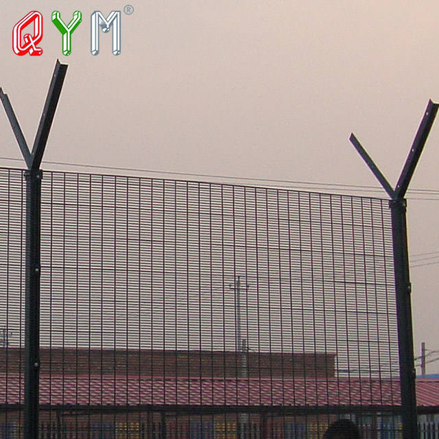 358 Airport Security Fence Airport Welded Wire Mesh Fence