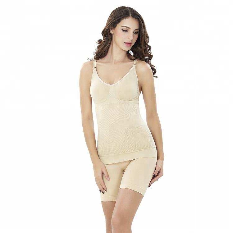 Wholesale postpartum woman breastfeeding vest shapes the waist,hips and stommach corsets body shaper