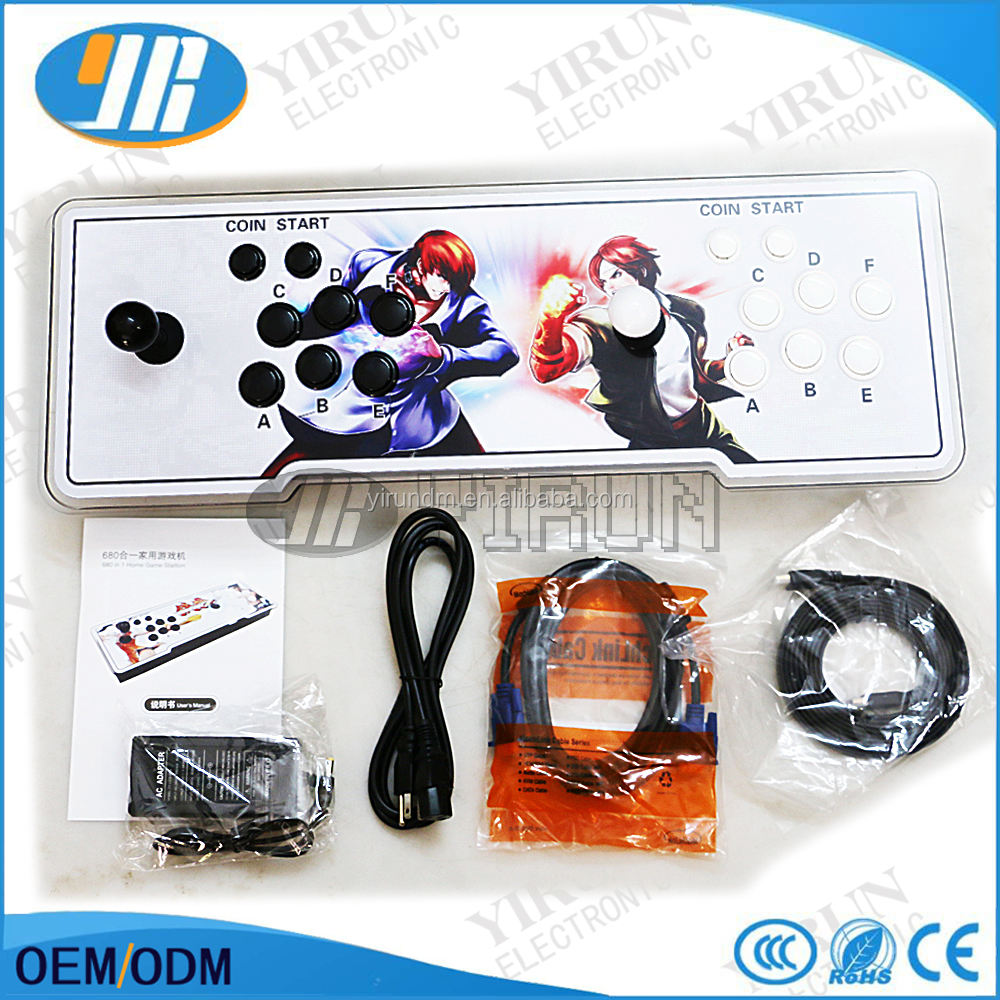 King of Fighters Arcade Console di Gioco Con Funzione di USB al PC Jamma Arcade 815 in 1 giochi