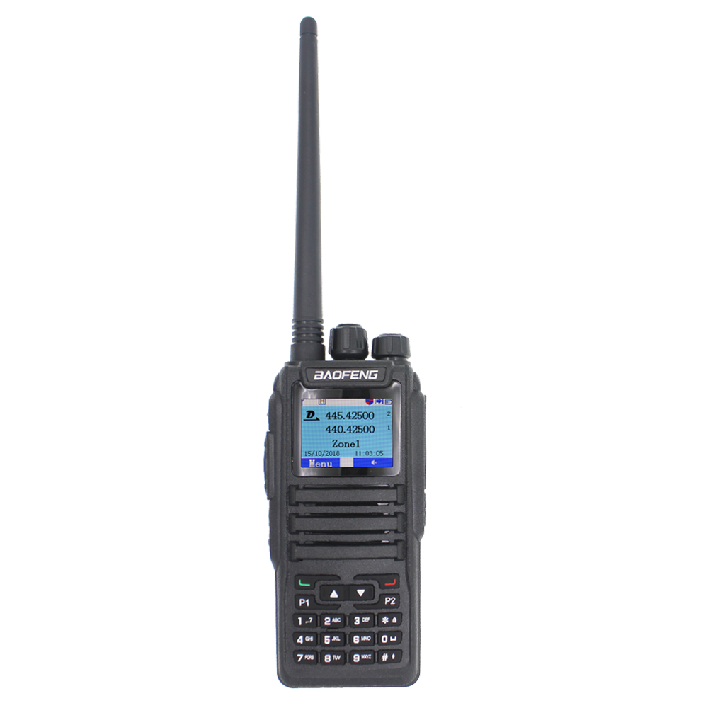 Hotsale Dmr Dual Digitale Ptt Radio Baofeng Ham Transceiver Ham Amateur 2-Way-Radio Stationion Dual Band