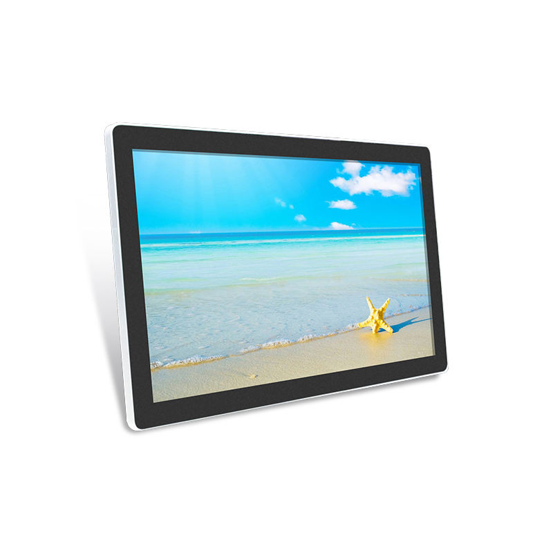 32 Inch Touch Screen Capacitieve RS232 USB Powered Lcd monitor voor Reclame