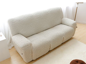 Furniture Protector Decorative Three Seaters Spandex Fabric Recliner Sofa Cover Slipcover Sofa Couch Cover
