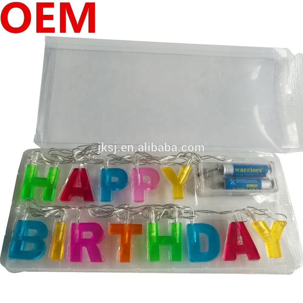 1st birthday party decorations for gift steady commercial led light string