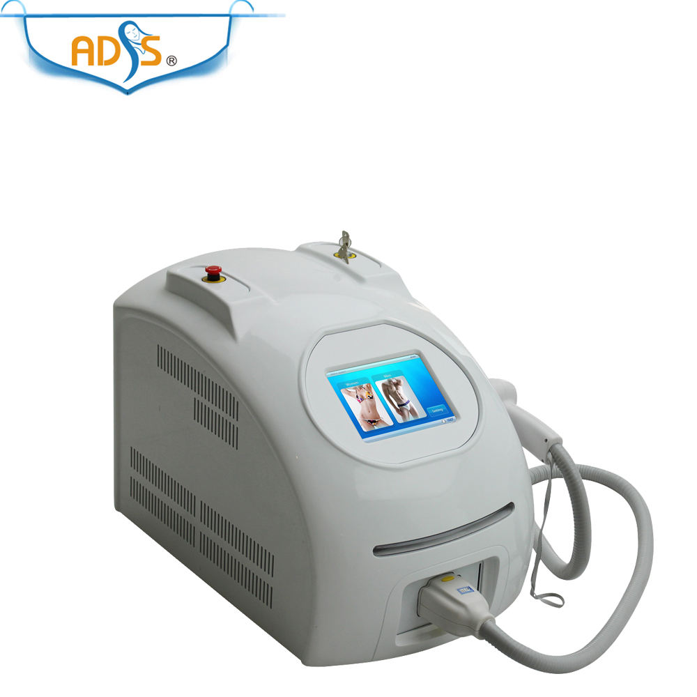 ADSS beauty salon equipment portable 808nm diode laser hair removal machine with CE