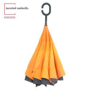Custom Magic Handle Double Layer Upside-down Umbrella