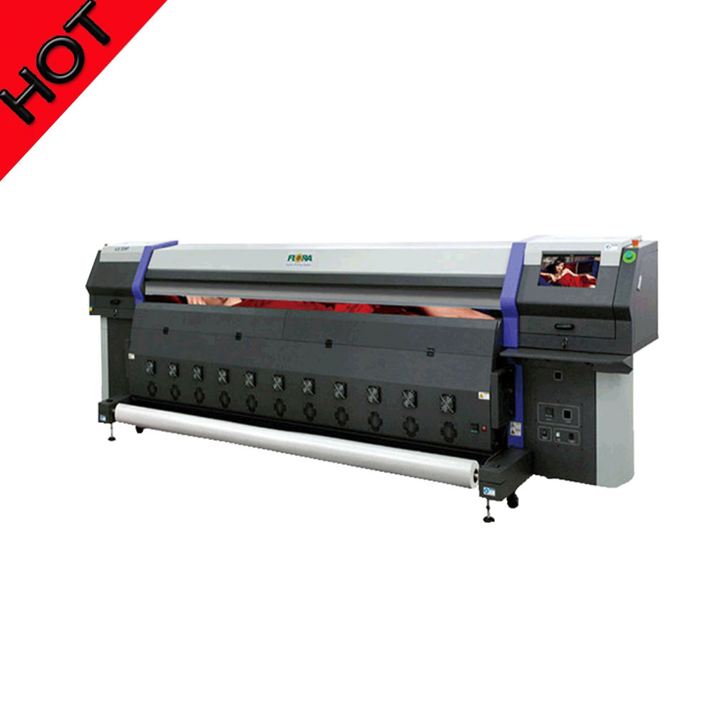 Discount price for Flora 3.2m solvent printer ,Spectra polaris printer ,fast speed