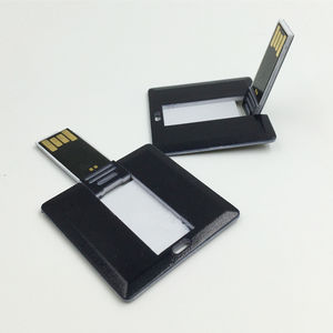 New Design 2G 4G Square Credit Card Business Card Pen Drive Promotional gift ABS plastic materialcard usb flash pen drive