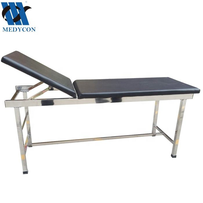 MDK-C104(I) two sections stainless steel medical patient examination couch
