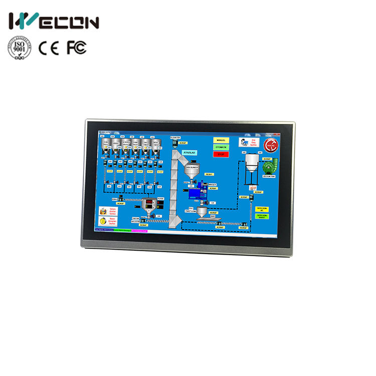 Wecon Intuitive Interface Ethernet Marine Hmi Touch Screen Monitor