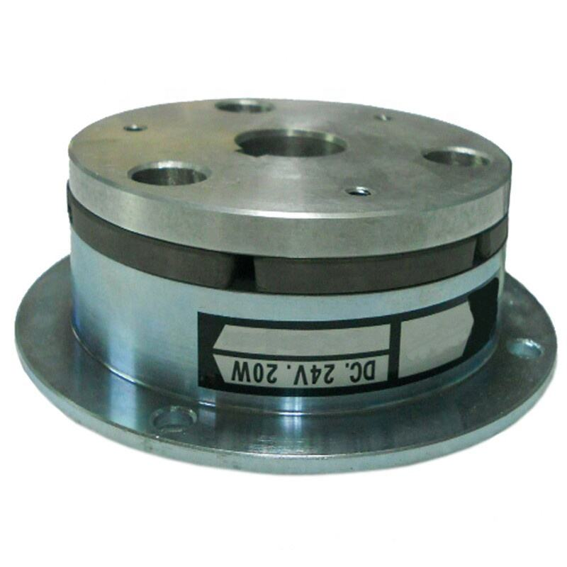 Industrial electromagnetic disc brake and clutch with high precision
