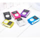 China manufactory clip mini mp3 music player new portable sport reproductor mp3 with user manual headphone data cable