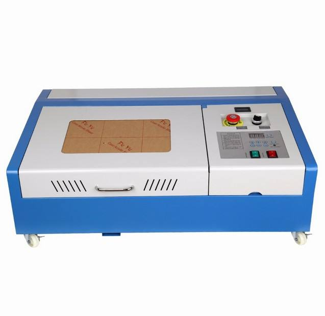 Graveur Met Hoge Nauwkeurige Hout Cutter 40W CO2 Usb <span class=keywords><strong>Lasergravure</strong></span> Snijmachine