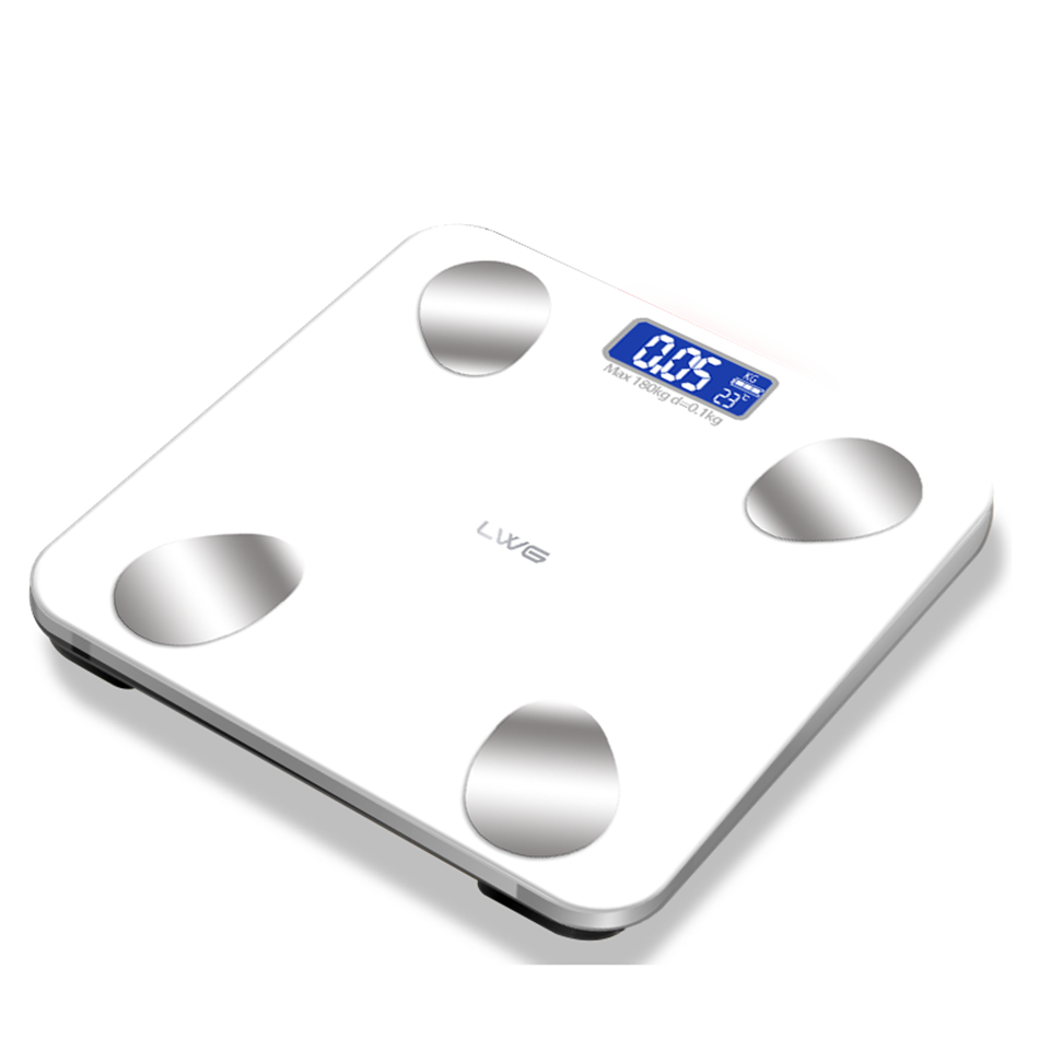 Salon digital foot bluetooth body fat bathroom scale