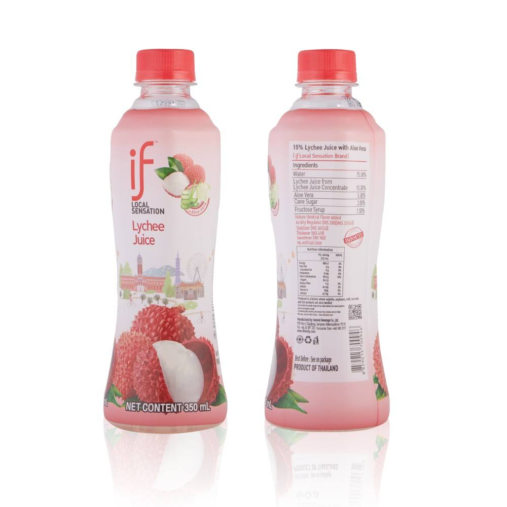 Aloe vera with lychee drinks 15% concentrated