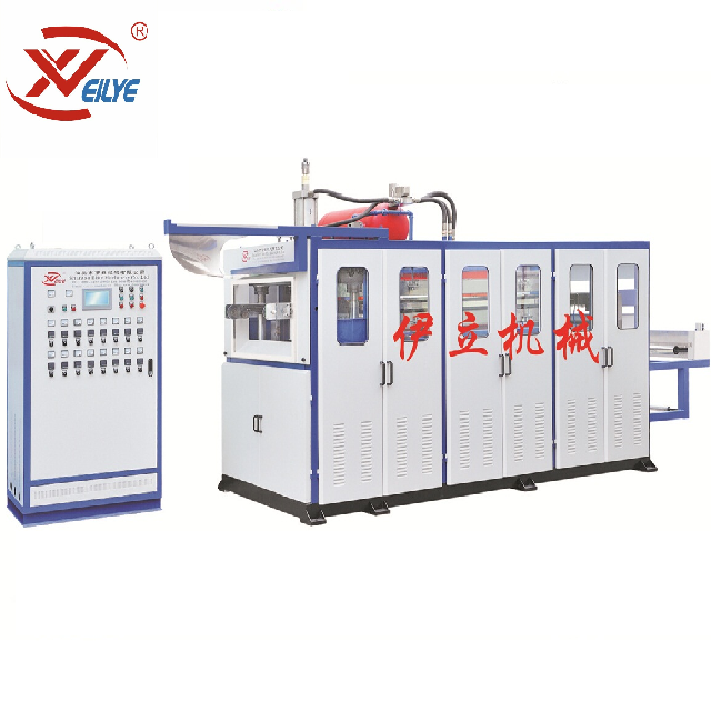 PP/PS/HIPS/PET/PE Auto cup thermoforming machine price