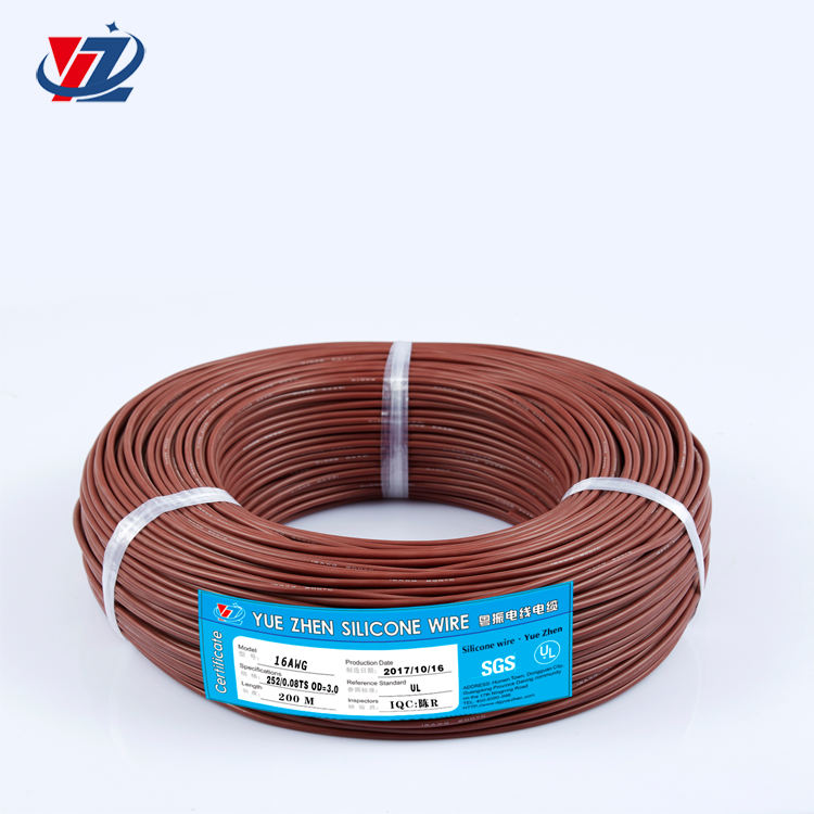 Free Sample Cooper wire Color Cable electric 16awg 1.26 sq mm silicone wire