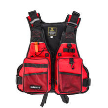 YOUME Outdoor Sport Fishing Life Vest Men Breathable Swimming Life Jacket Safety Waistcoat Survival Utility Vest