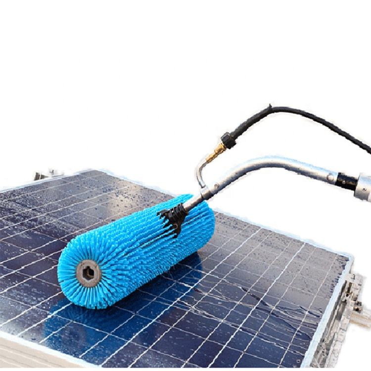 PV Water Cleaning Solar Panel Roller Brush Solar Cleaning Brushes