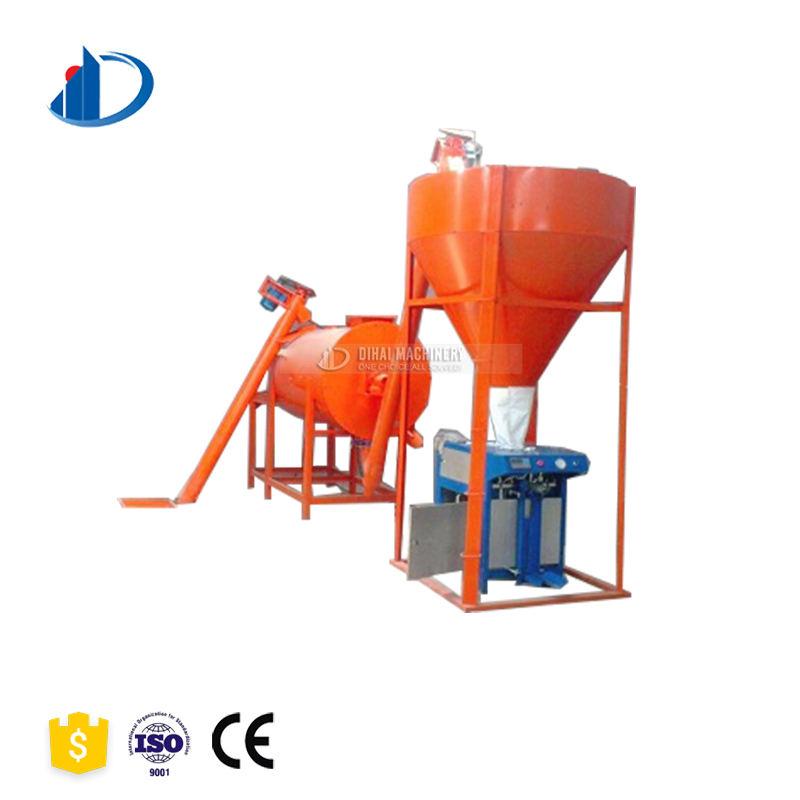Seco materiales de construcción 5-6tph mezcla seca mortero línea proveedor obtener el precio