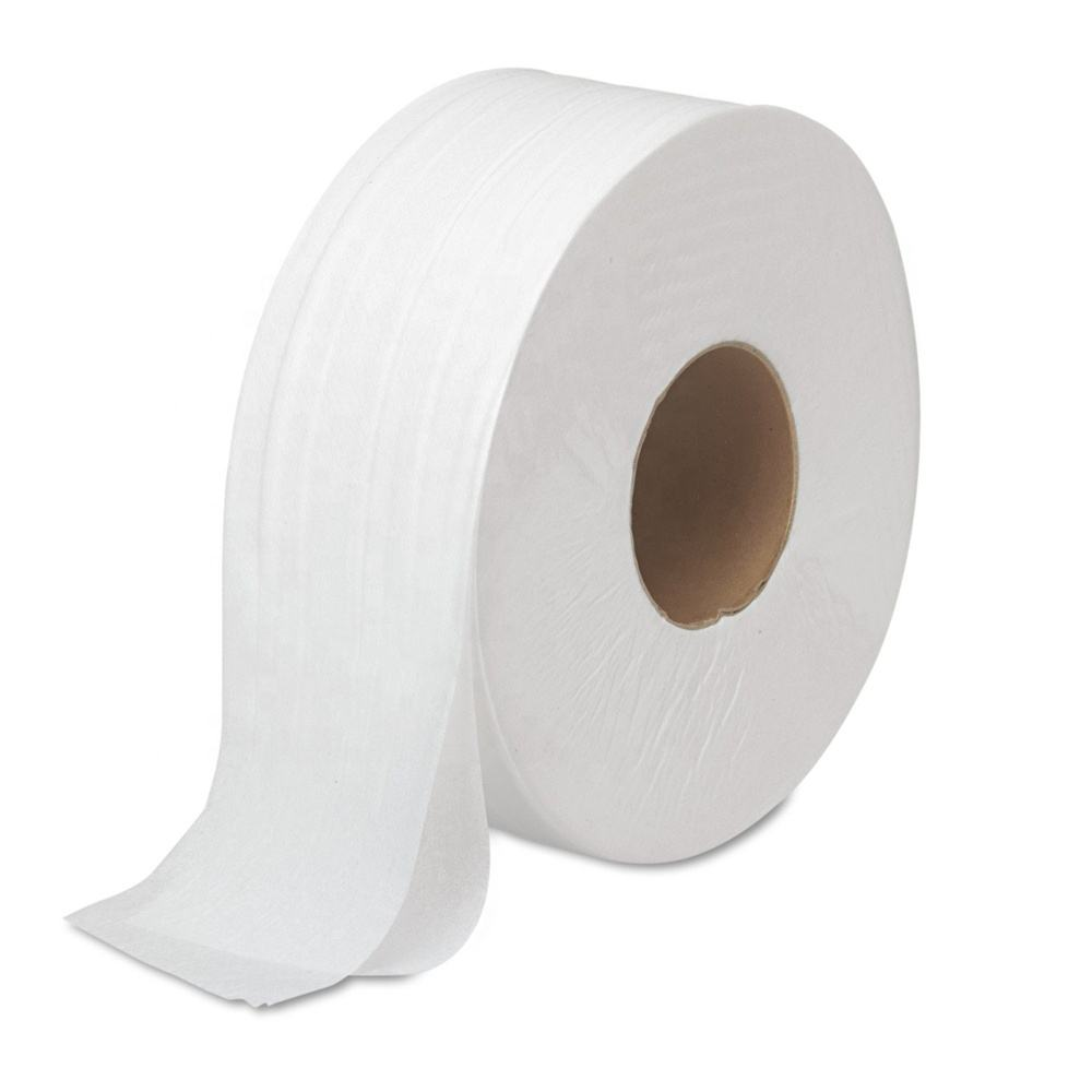 "<span class=keywords><strong>Jumbo</strong></span> <span class=keywords><strong>Jr</strong></span>. Badkamer Tissue Roll 9 ""dia, 1000ft Case van 12 Rolls"