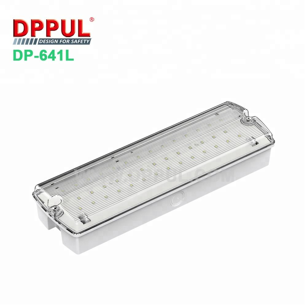 with Free Sample China IP65 Waterproof Material Battery Operated Led Emergency Light
