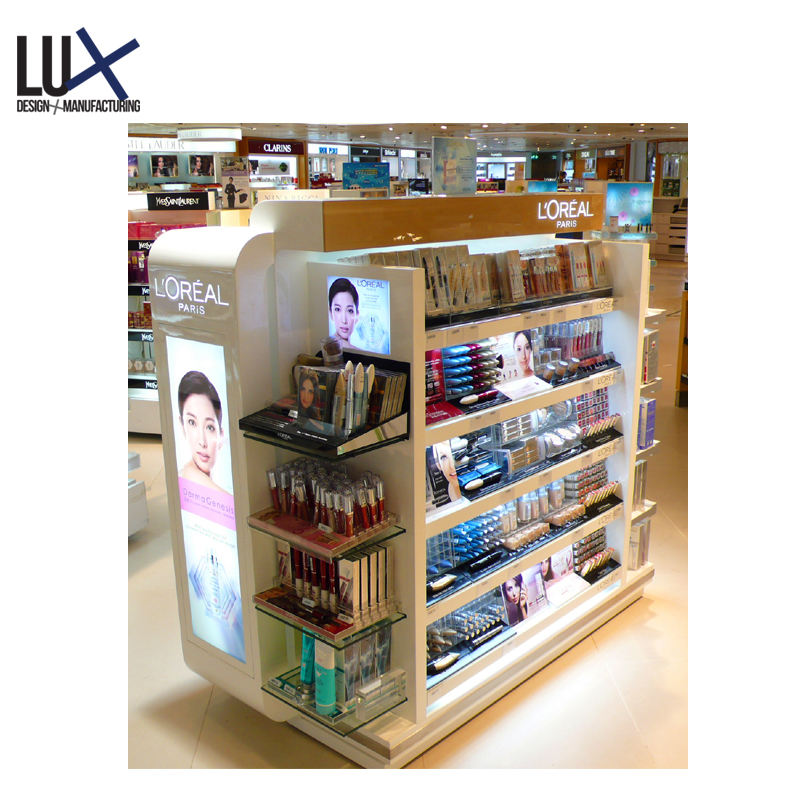 Environmental Material Multiple Utilization Cosmetics Furniture Display