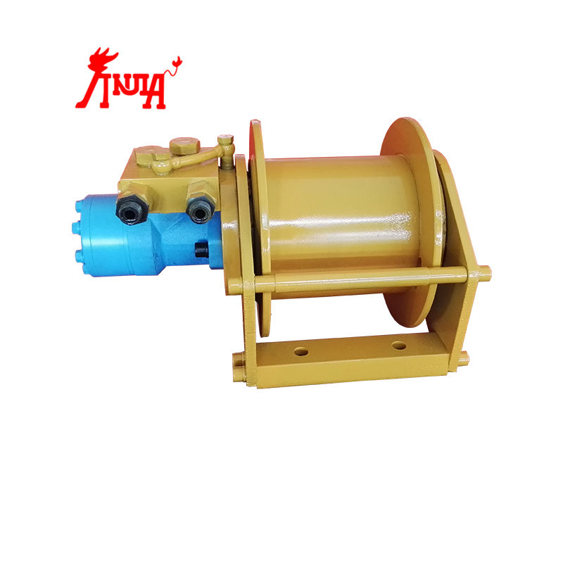Single drum 1 ton/2 tons/3 tons hydraulic winch for tractors/anchor/excavator/shrimp boat/fishing net
