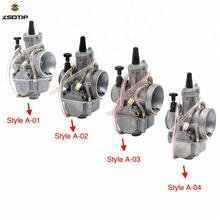 21 24 26 28 30 32 34 Racing Carburetor For Scooter CARBURADOR JOG DIO DT100 With Power Jet Sale Package