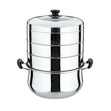 Efficient Energy Saving Stainless Steel Stackable Steamer Pot double boiler