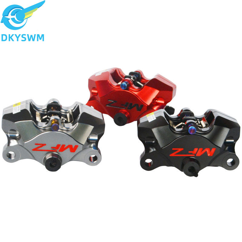 MFZ mofas sport disc brake crab on two calipers and CNC forged pump electric friction MC01S competitive brake