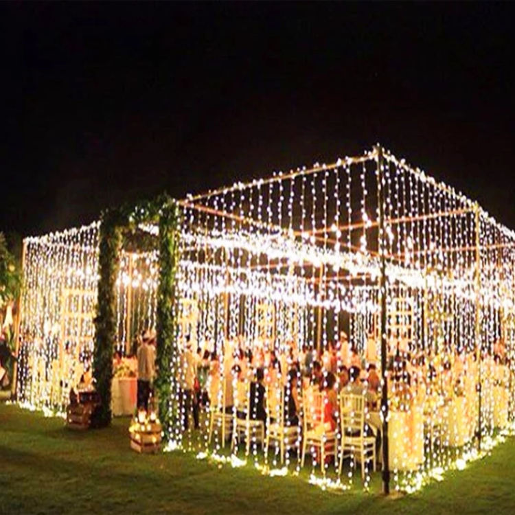 Outdoor 10 mt 20 mt 30 mt 50 mt 100 mt LED Fee String Lichter Weihnachten Party Hochzeit Urlaub Dekoration girlande licht