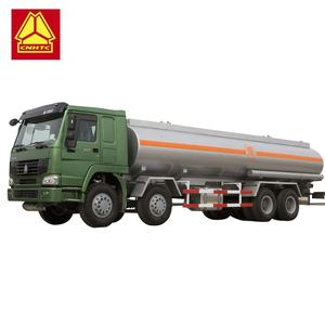 SINOTRUK HOWO 8x4 30000 liters fuel tanker truck for sale