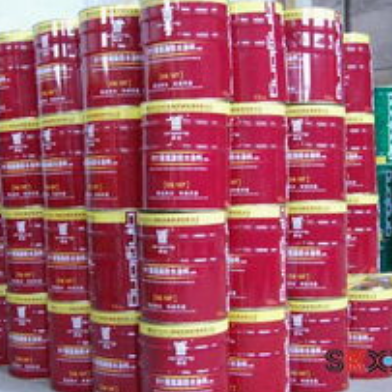 Two component liquid polyurethane for stamping concrete