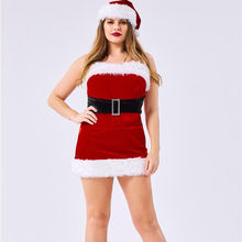 plus size fancy cosplay dance christmas costume adult