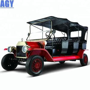 AGY 48v battery operated classic cars 8 seater golf carts with good price