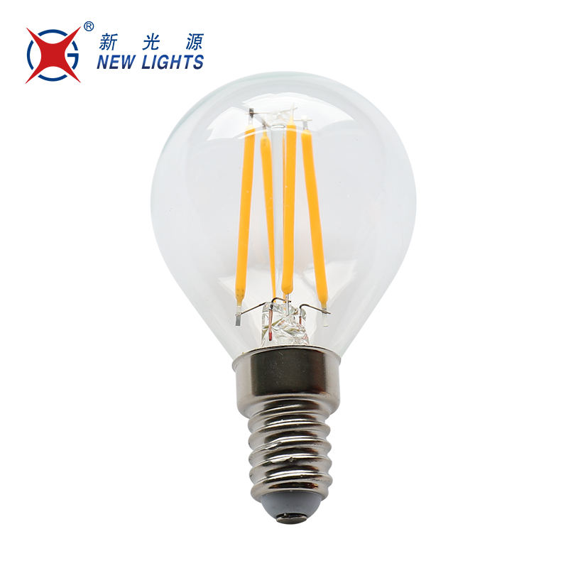 Good price export g45 2w 4w e12 e14 3000k clear glass filament bulb lamp