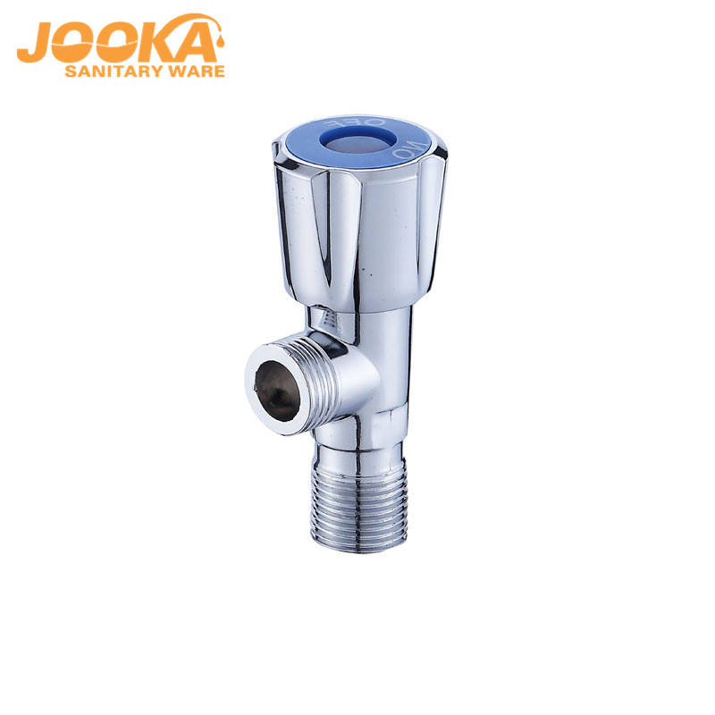ABS Plastic Handle Chrome Plated Toilet Angle Valve
