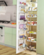 Oem Design Storage Kitchen Cabinet Magic Corner Basket