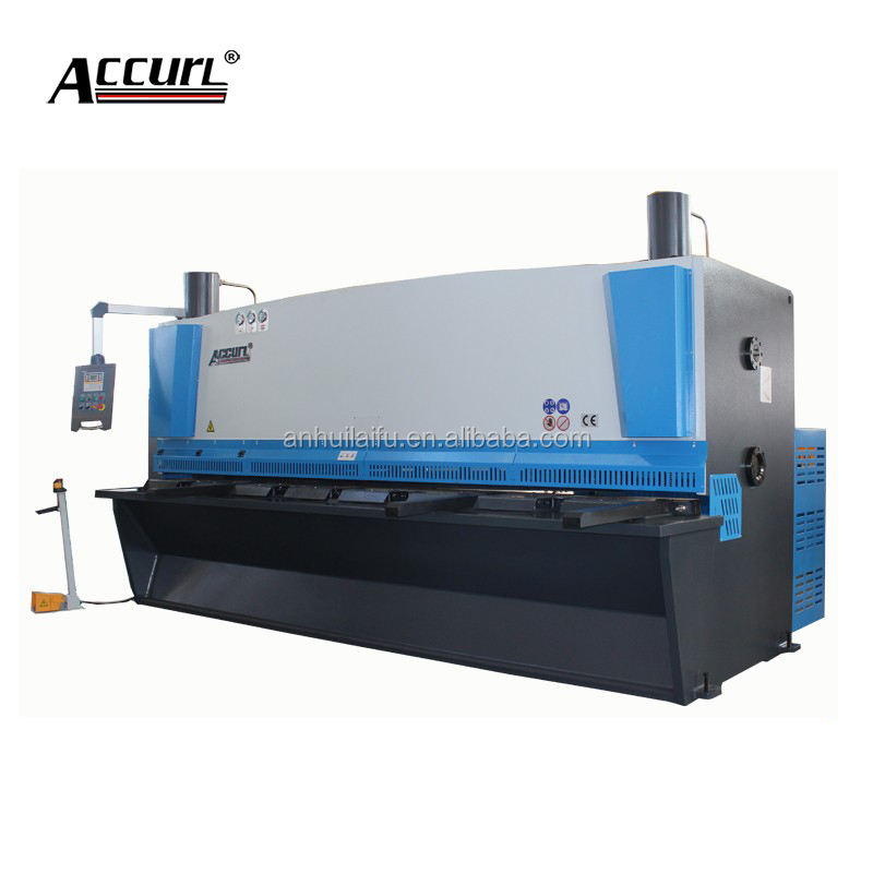 sheet metal cutting machine cut-off saw nc control hydraulic swing beam shearer