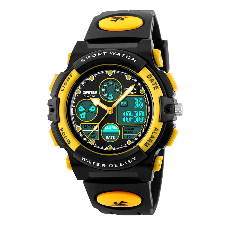 famous skmei brands waterproof kids analog watches